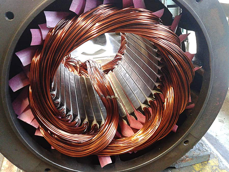 Avvolgimento motori elettrici Varese