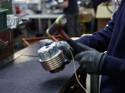 Officina meccanica per elettropompe e motori elettrici a Varese